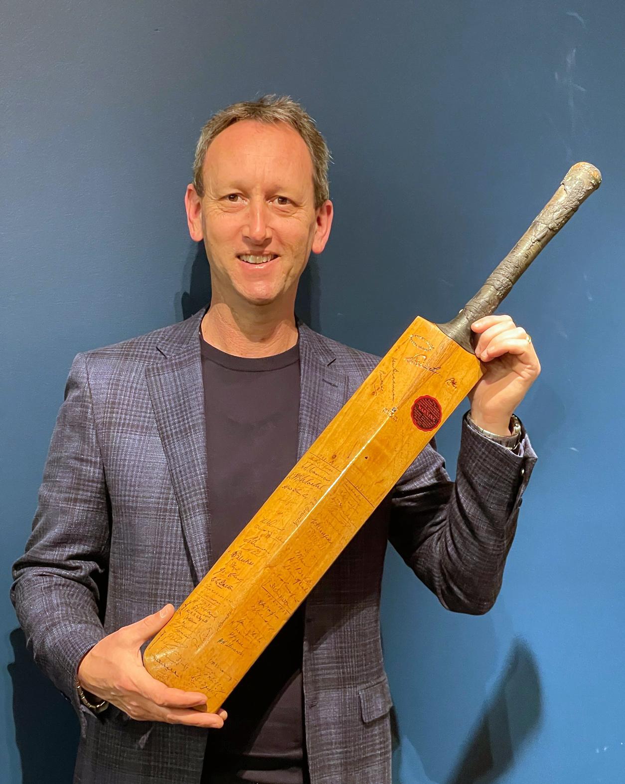 Sale Of Sir Don Bradman Bat Sets A New World Record